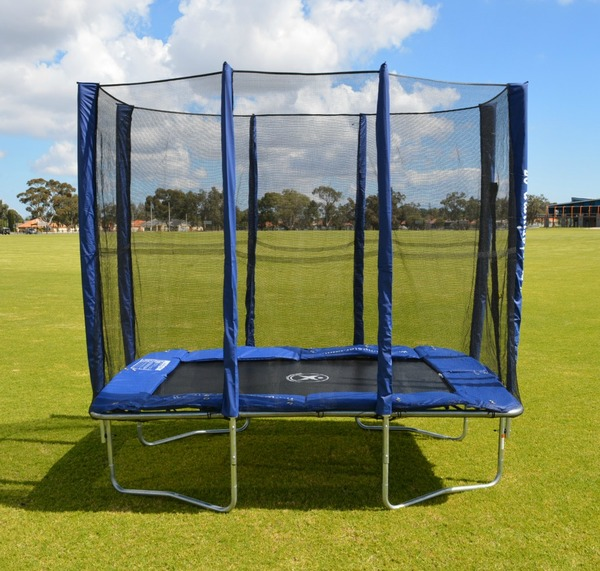 5x7ft rectangle trampoline with enclosure 5x7ft rectangular trampoline jump star trampolines. Black Bedroom Furniture Sets. Home Design Ideas