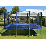 7x10FT Trampoline with Enclosure
