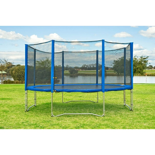 10FT Trampoline With Enclosure & Ladder