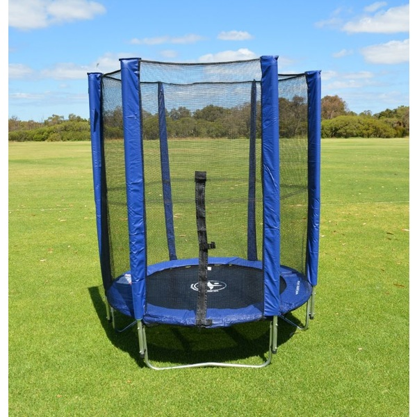 4.5FT Mini Trampoline with Enclosure